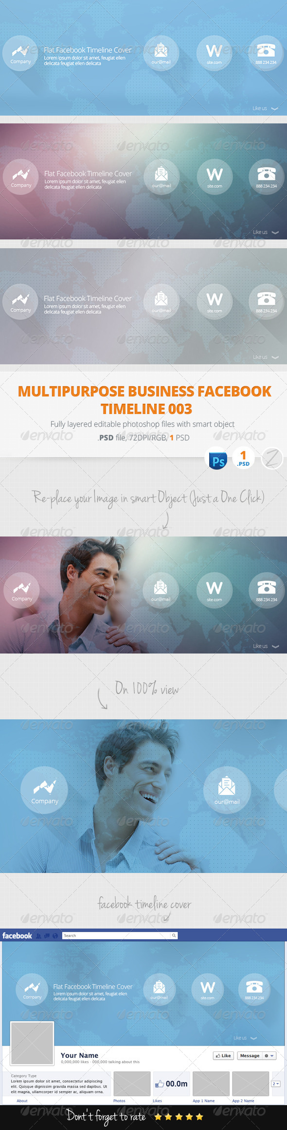 GraphicRiver Facebook Timeline Cover 6209418