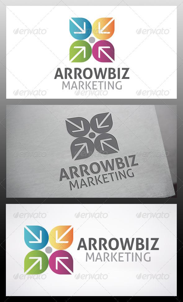 GraphicRiver Target Arrow Logo 6210201