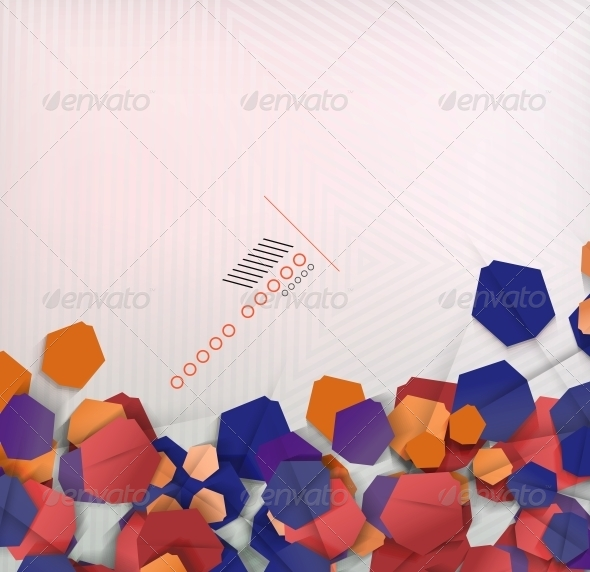 GraphicRiver Abstract Geometric Shape Background 6210329