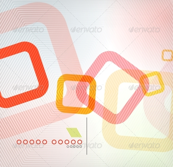 GraphicRiver Abstract Background Geometric Square Shape 6210352