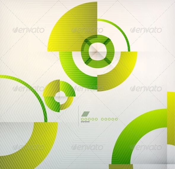 GraphicRiver Rings Geometric Shapes Abstract Background 6210355