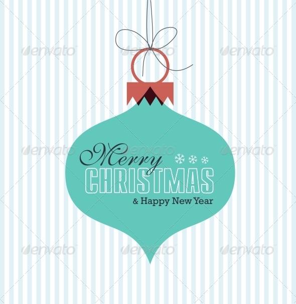 GraphicRiver Merry Christmas Card 6210358