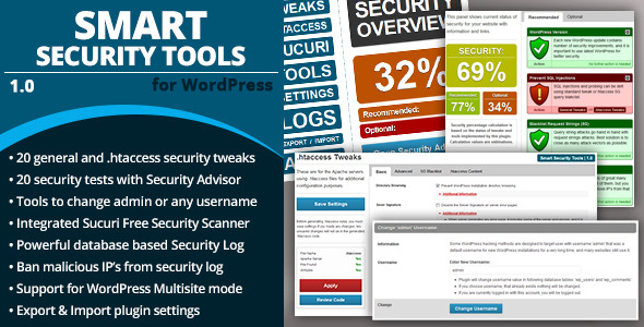 CodeCanyon Smart Security Tools 6210378