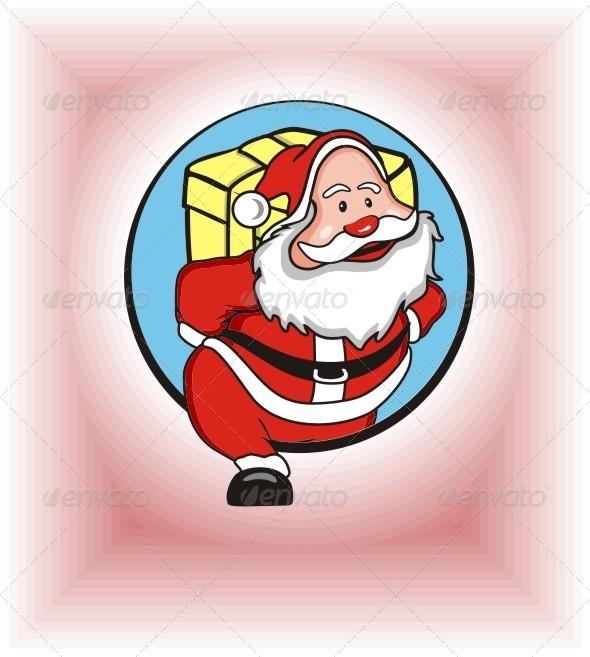 GraphicRiver Santa Claus 6210392