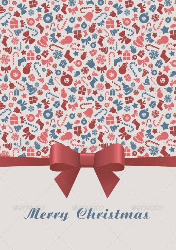 GraphicRiver Merry Christmas Card 6210484
