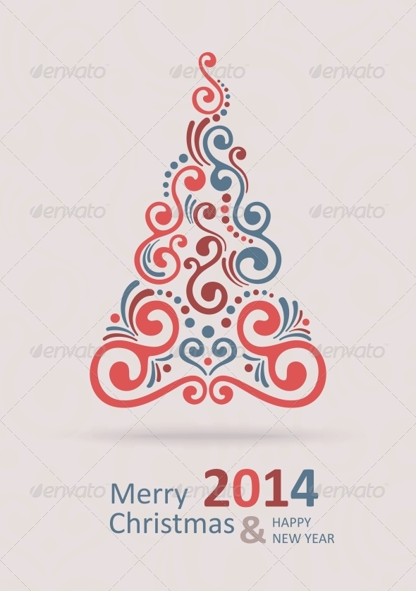 GraphicRiver Merry Christmas Card 6210487