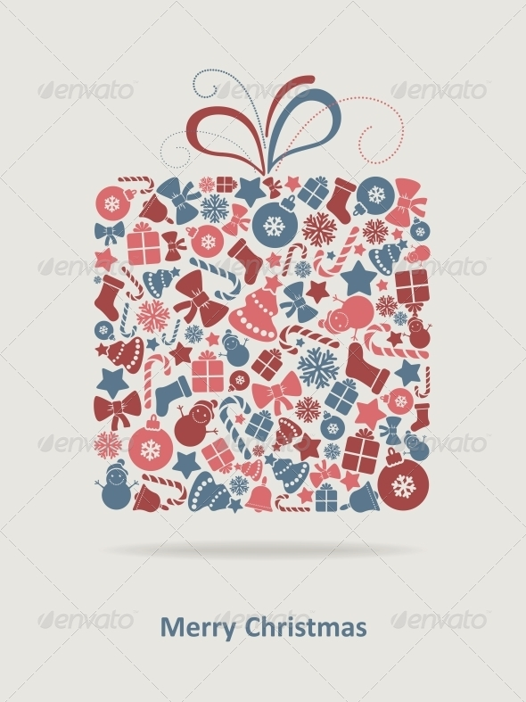 GraphicRiver Merry Christmas Card 6210501