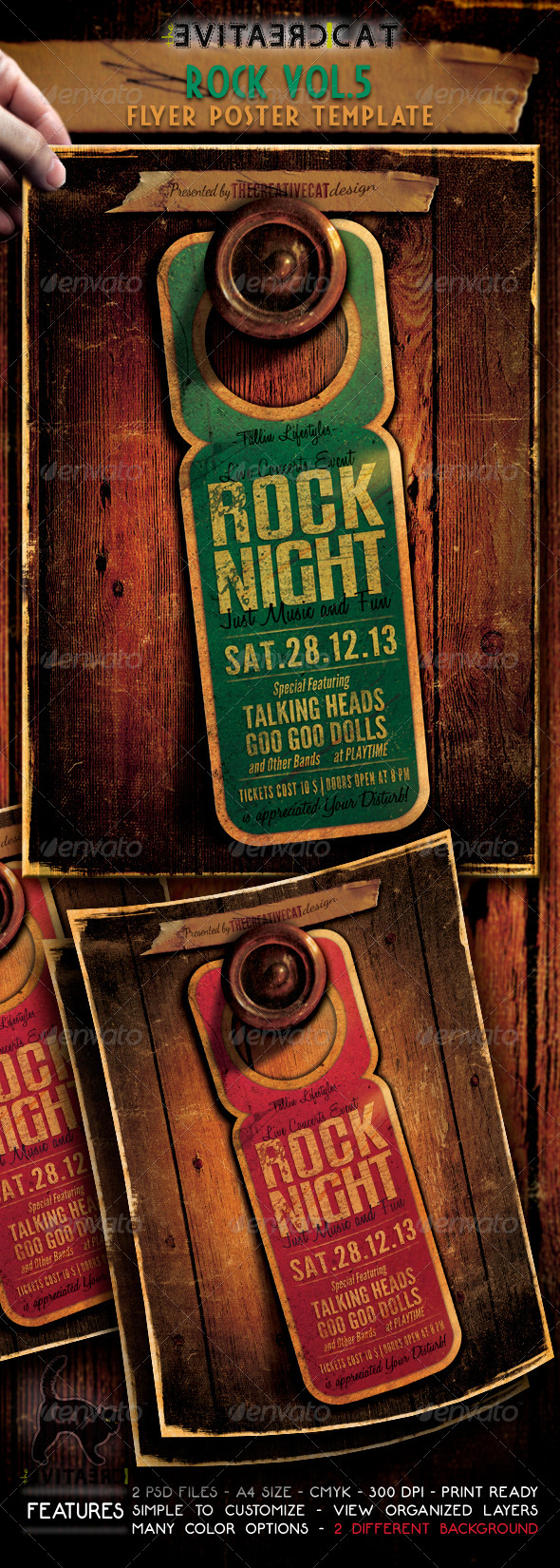 GraphicRiver Rock Flyer Poster Vol 5 6210516