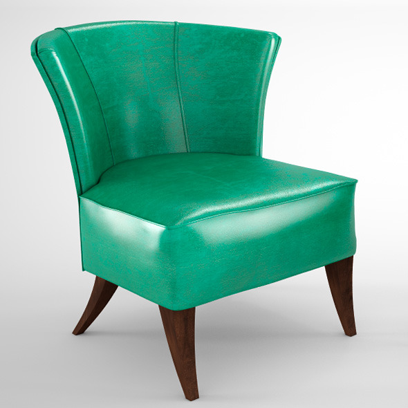 Mascheloni Tamara Chair - 3DOcean Item for Sale