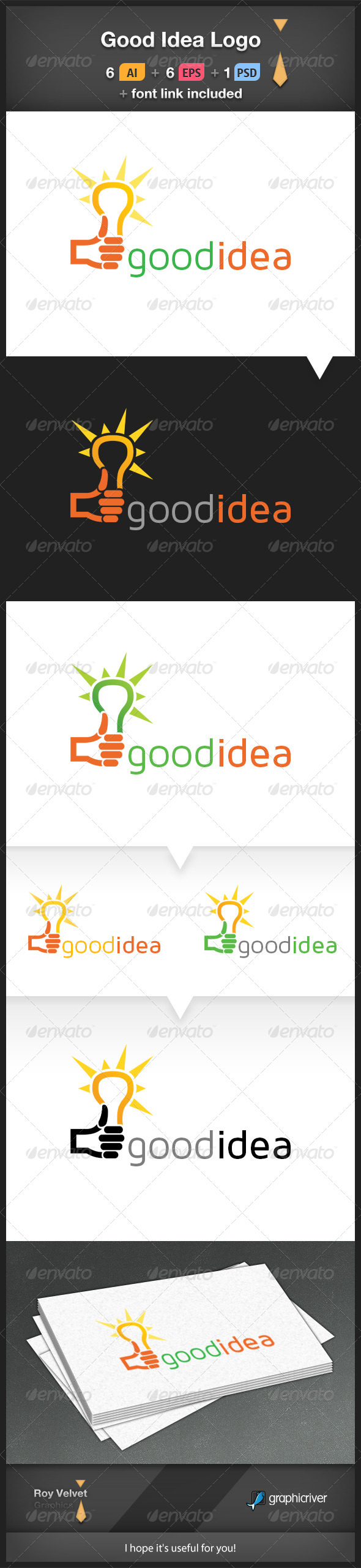 GraphicRiver Good Idea Logo 6210621