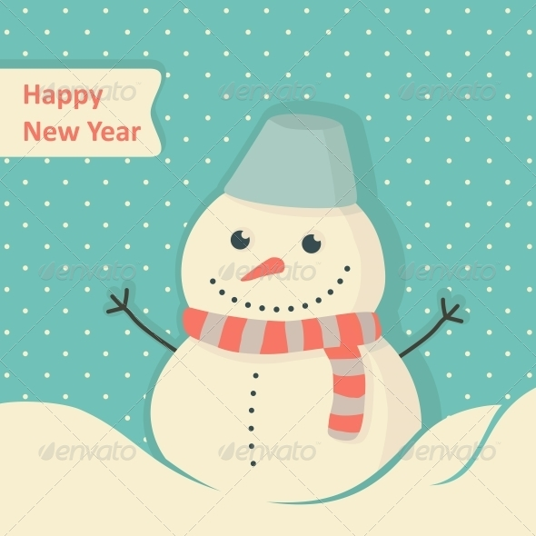 GraphicRiver New Year Card 6210628