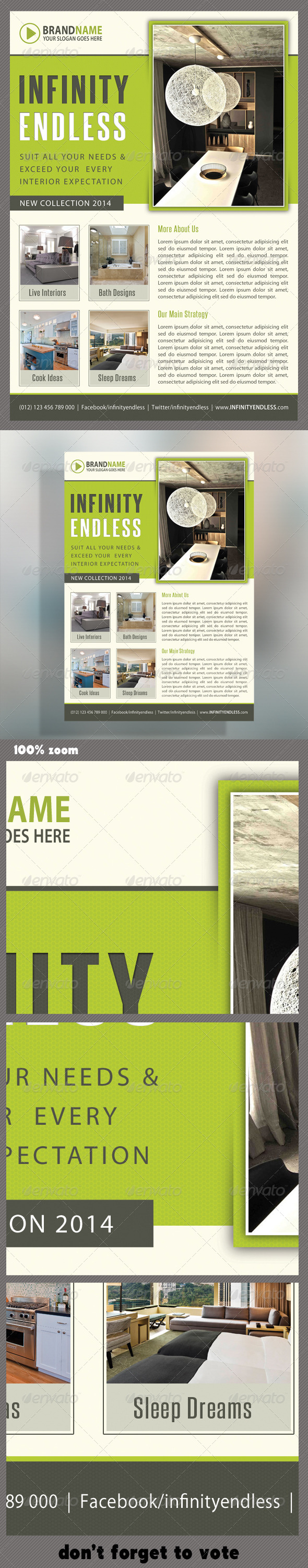 GraphicRiver Corporate Product Flyer 47 6210688
