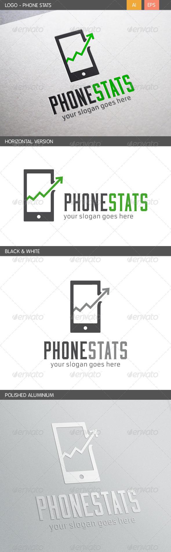 GraphicRiver Phone Stats Logo 6210815