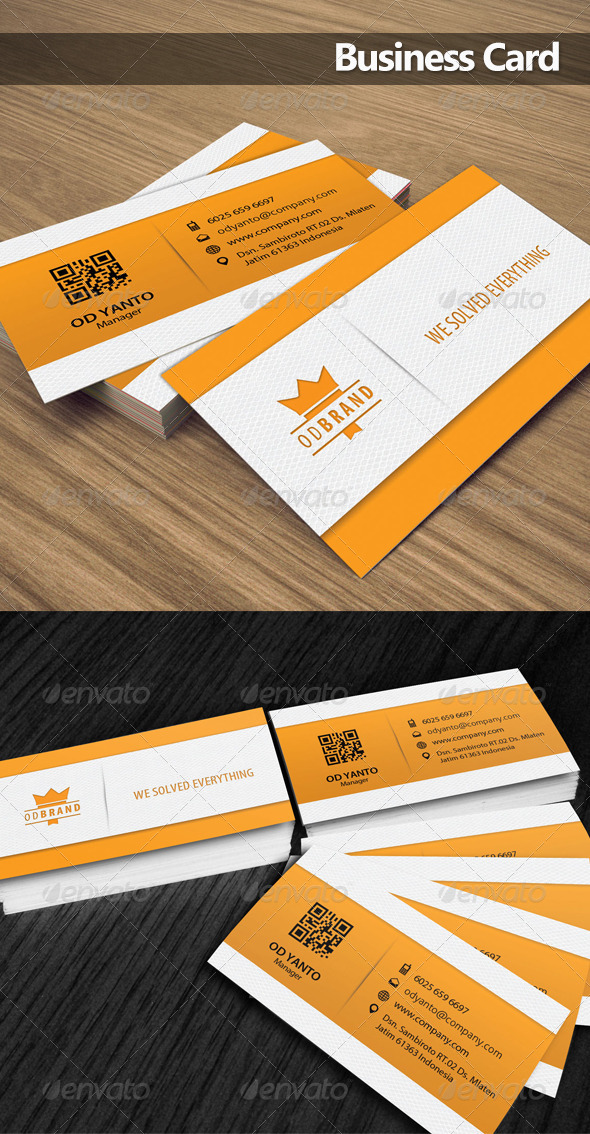 GraphicRiver Business Card OD 5 6203003