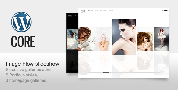 Core Minimalist Photography Portfolio - ThemeForest Item for Sale