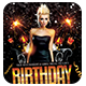 Birthday Nights | Flyer + FB Cover - GraphicRiver Item for Sale