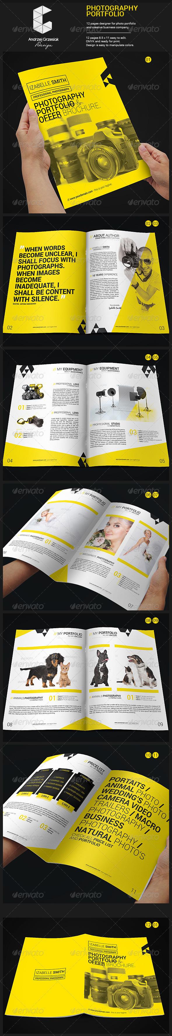 GraphicRiver Photography Portfolio 6206340