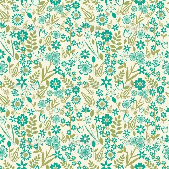 GraphicRiver Floral Pattern 6211563