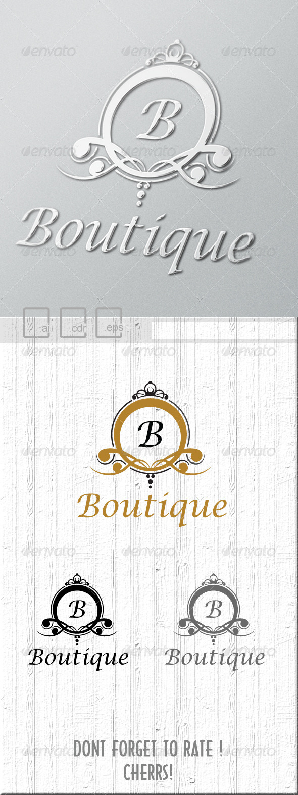 GraphicRiver Boutique Logo 6204081