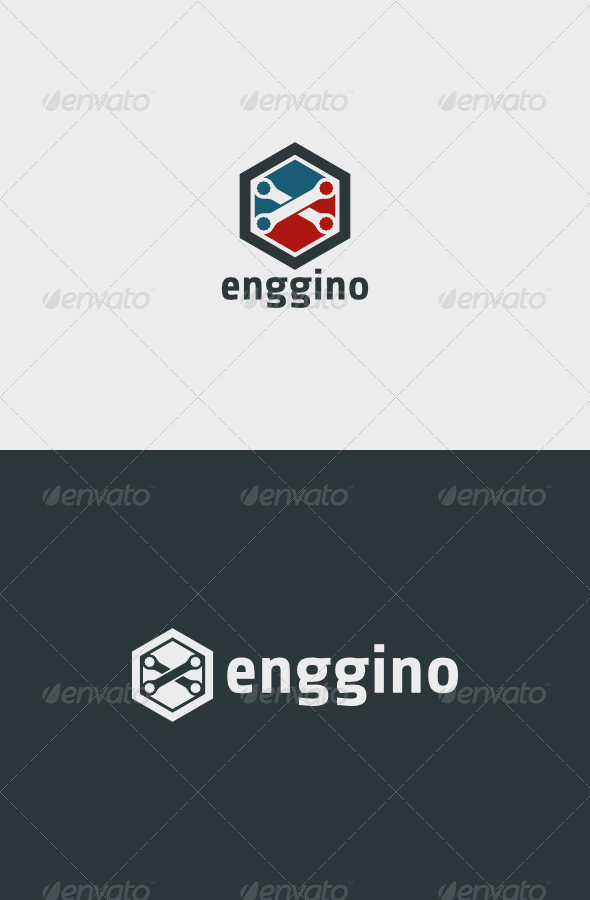 GraphicRiver Enggino Logo 6211709