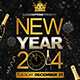 Elegant New Year Flyer - GraphicRiver Item for Sale
