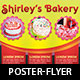 Bakery Cake Flyer and Poster Template - GraphicRiver Item for Sale