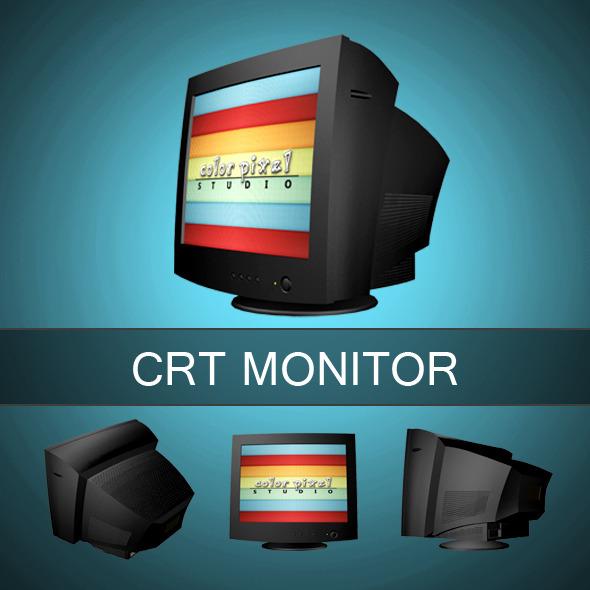 3DOcean CRT Mnitor 6212737