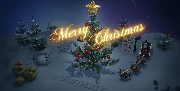 3DOcean Christmas 3D 6212958