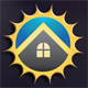 Sun House Logo - GraphicRiver Item for Sale