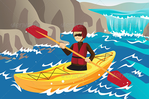 GraphicRiver Kayaking 6213350