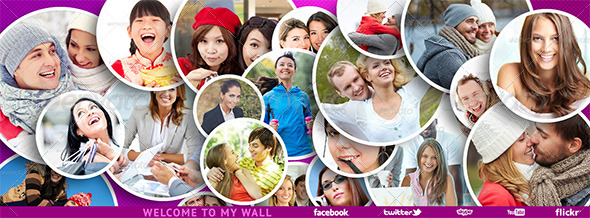 GraphicRiver Facebook Timeline Cover for photos PSD 6213373