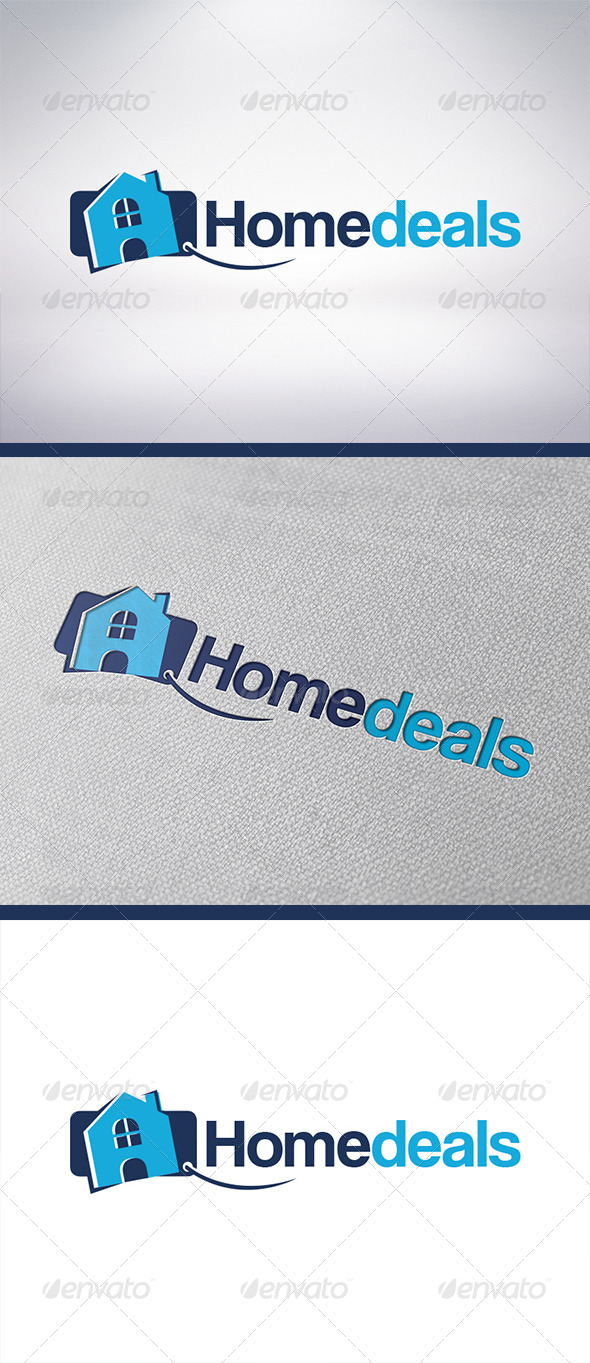 GraphicRiver House Deals Logo Template 6213410