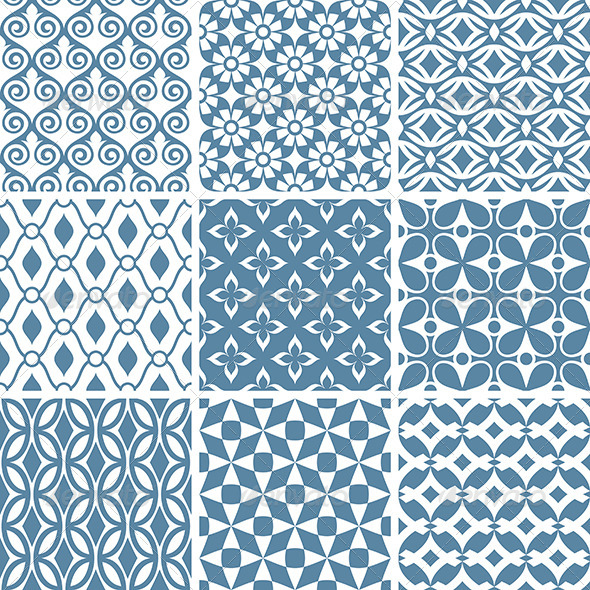 GraphicRiver Abstract Vector Patterns 6213730