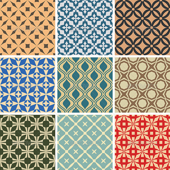 GraphicRiver Abstract Vector Patterns 6213797