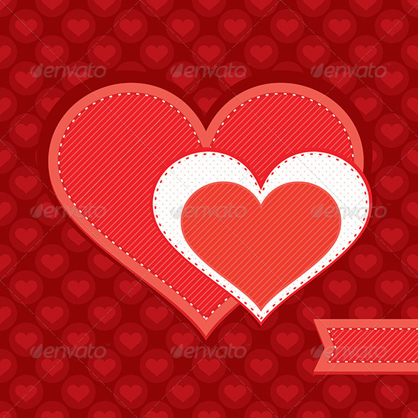 GraphicRiver Valentine s Day Card 6213841