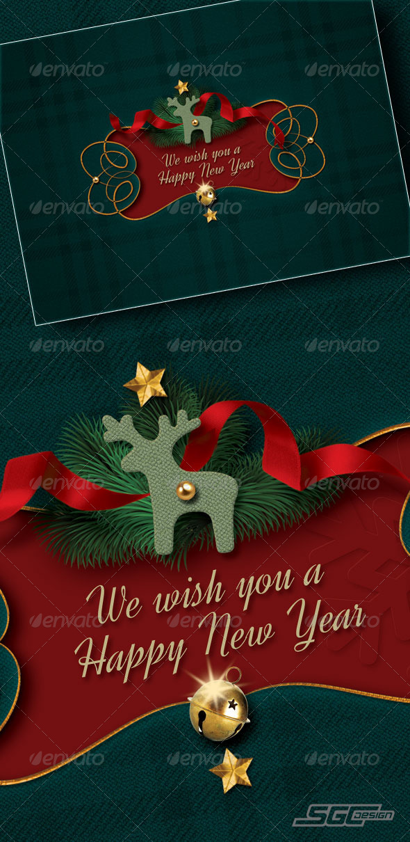 GraphicRiver Christmas Card 6213878