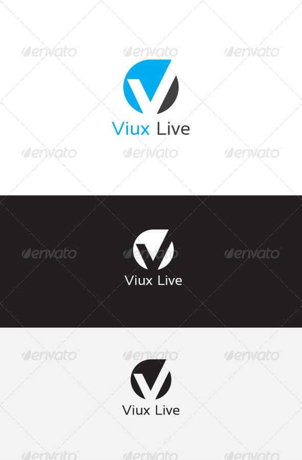 GraphicRiver V Letter Logo Template 6214063