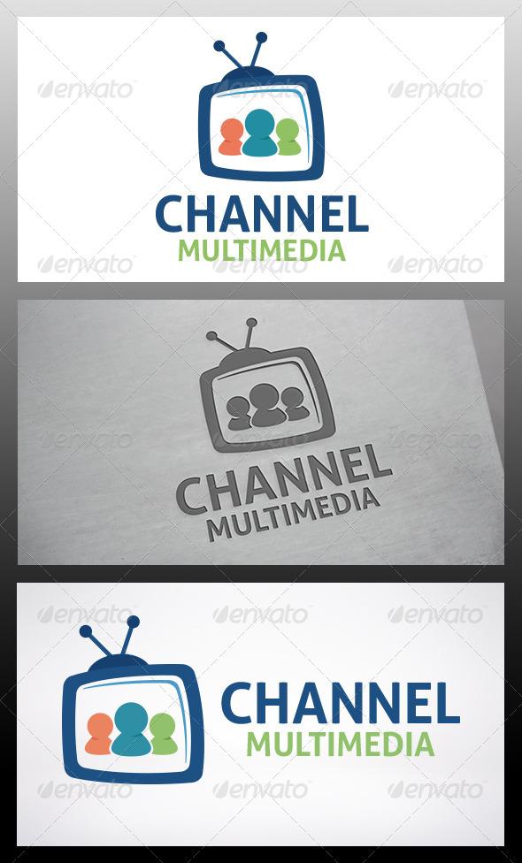 GraphicRiver Social Tv Logo 6214160