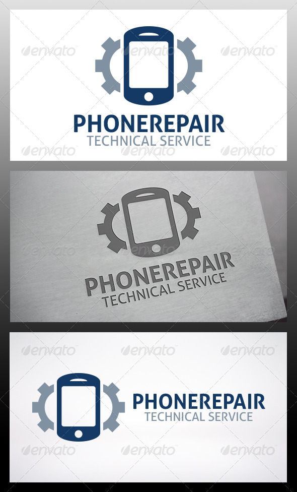 GraphicRiver Mobile Repair Logo 6214195