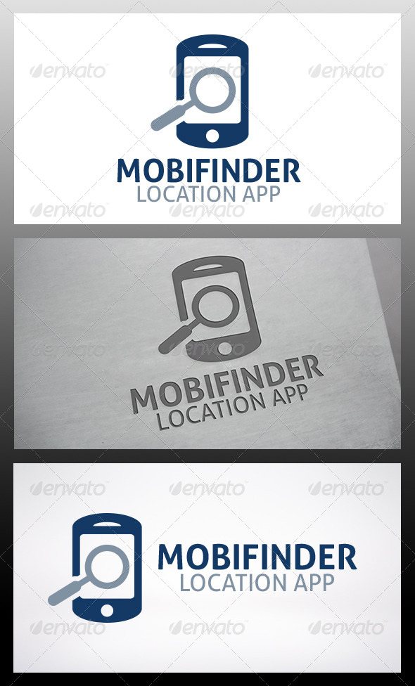 GraphicRiver Phone Locator Logo 6214274
