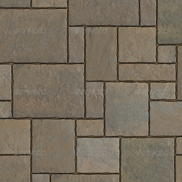 Tileable Paving Stones - 3DOcean Item for Sale