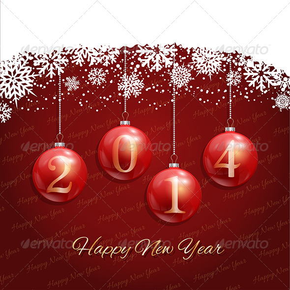 GraphicRiver Happy New Year Background 6214494
