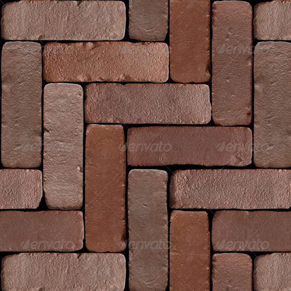 Tileable Mosaic Bricks - 3DOcean Item for Sale