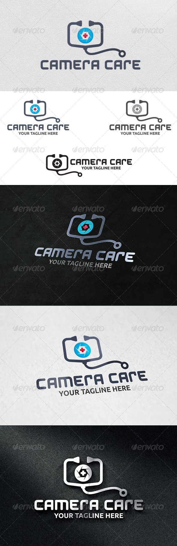 GraphicRiver Camera Doctor Logo Template 6214738