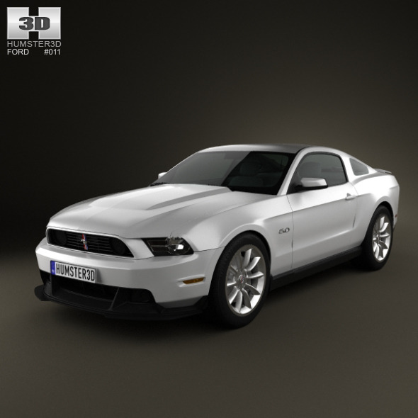 3DOcean Ford Mustang Boss 302 2012 649207