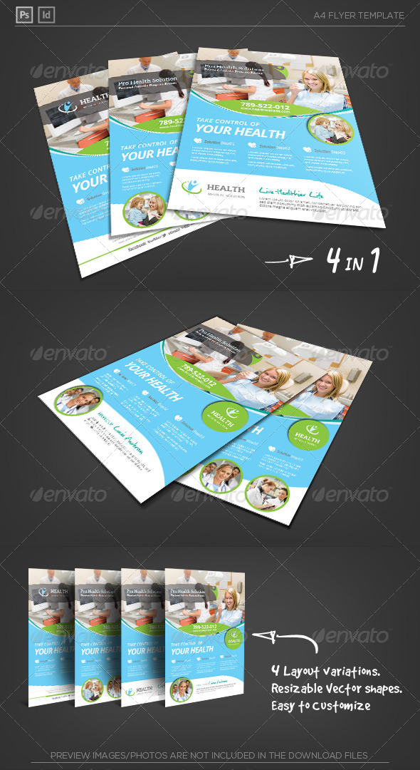 GraphicRiver Health Medical Care Corporate Flyer 6215332
