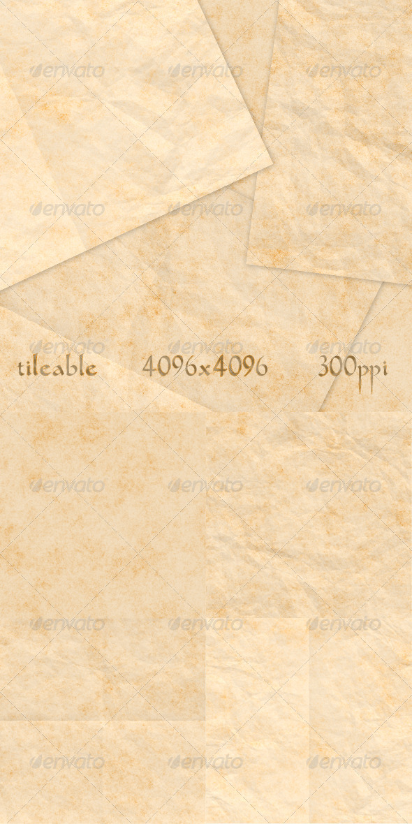 GraphicRiver 4 Old Paper Textures Vol.2 6215415