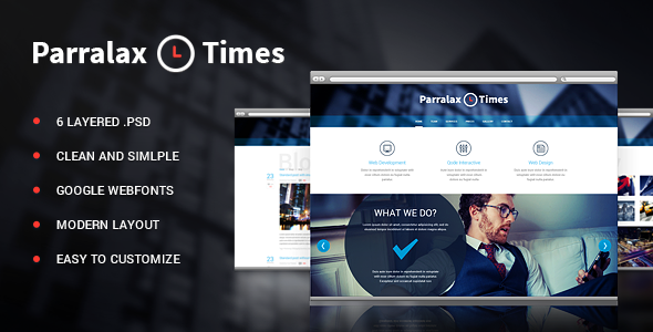Parallax Times PSD