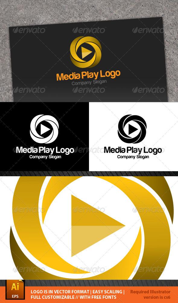 GraphicRiver Media Play Logo 6215762