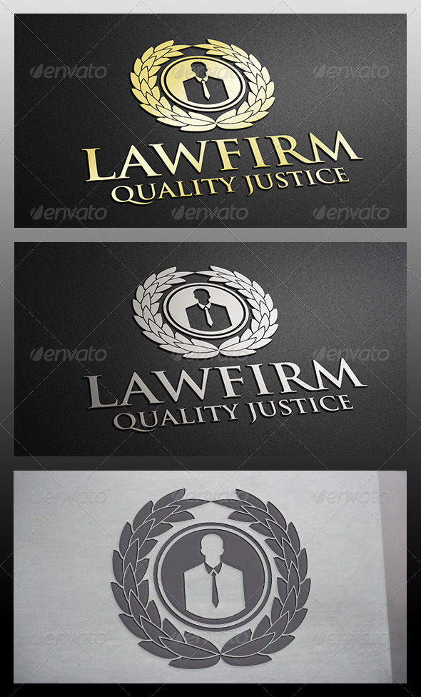 GraphicRiver Law Logo 6215789